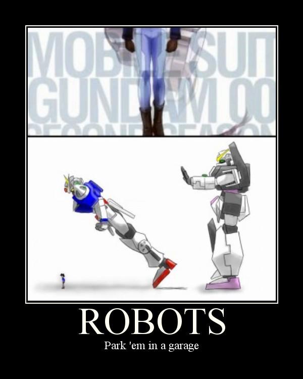 Robots Park 'em
