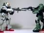 HG Gundam VS Zaku II